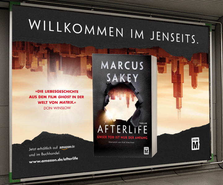 "Grossfflächenplakat ""Afterlife"""